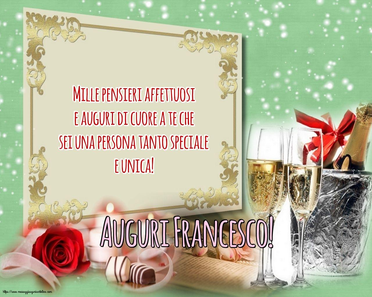 Cartoline di San Francesco - Auguri Francesco!