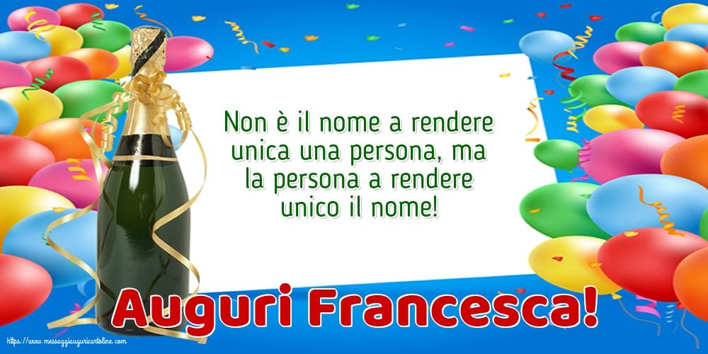 Cartoline di San Francesco - Auguri Francesca!