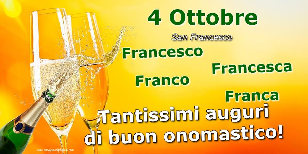 San Francesco 4 Ottobre - San Francesco