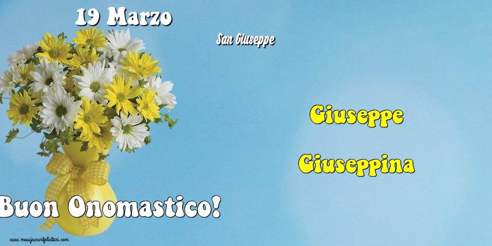 Cartoline di San Giuseppe - 19 Marzo - San Giuseppe