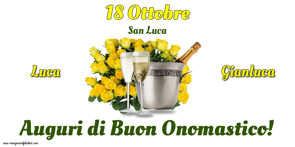 Cartoline di  San Luca - 18 Ottobre - San Luca