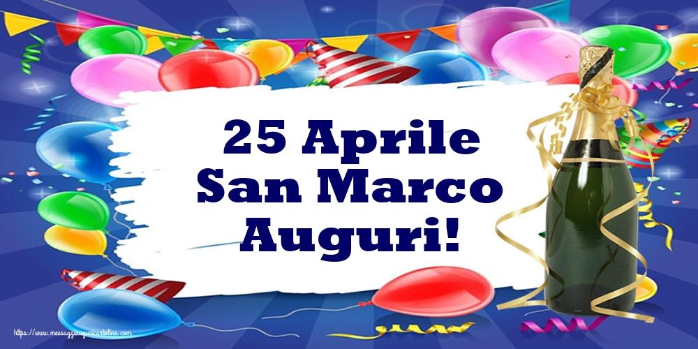 Cartoline di San Marco - 25 Aprile San Marco Auguri!