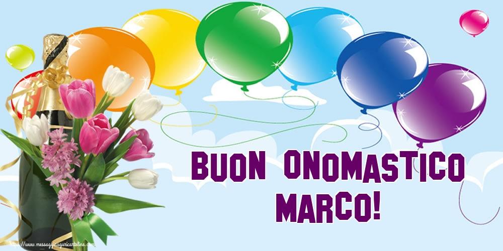 Cartoline di San Marco - Buon Onomastico Marco!