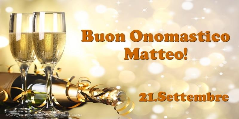 Cartoline di San Matteo - 21.Settembre  Buon Onomastico Matteo!