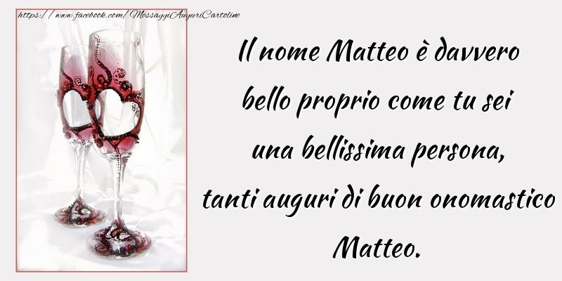 Cartoline di San Matteo - Tanti auguri di buon onomastico Matteo