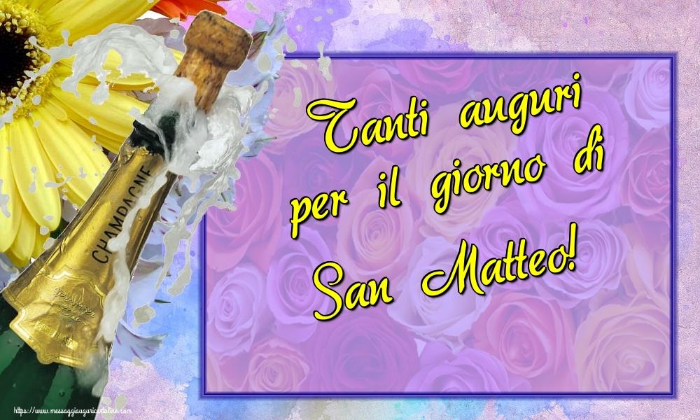 Cartoline di San Matteo - Tanti auguri per il giorno di San Matteo!