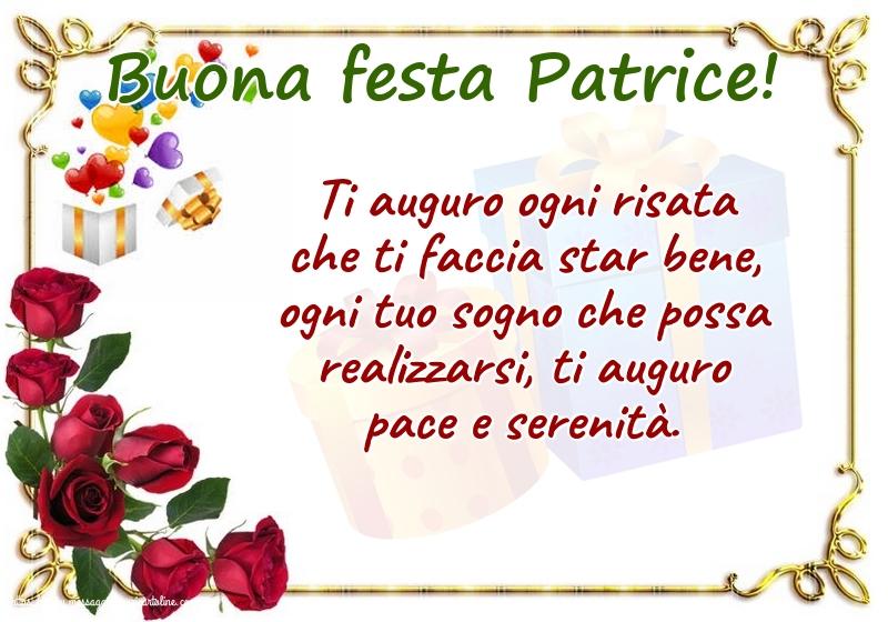 Cartoline di San Patrizio - Buona festa Patrice!