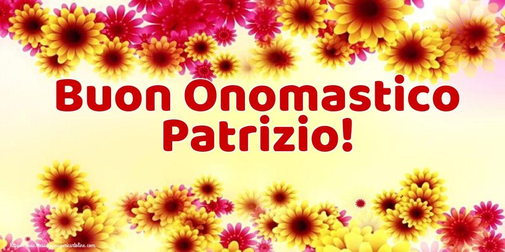 Cartoline di San Patrizio - Buon Onomastico Patrizio!