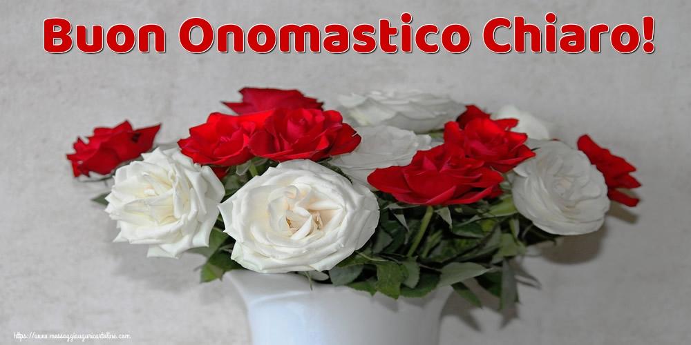 Cartoline di Santa Chiara - Buon Onomastico Chiaro!