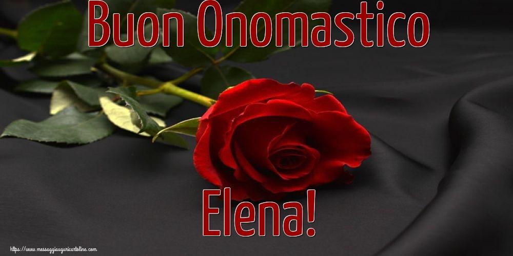 Cartoline di Santa Elena - Buon Onomastico Elena!