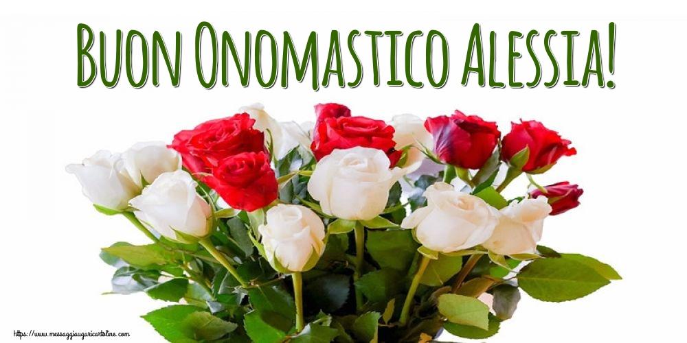Cartoline di Sant' Alessio - Buon Onomastico Alessia!