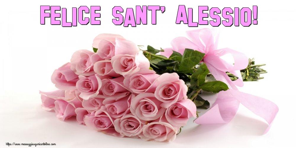 Cartoline di Sant' Alessio - Felice Sant' Alessio!
