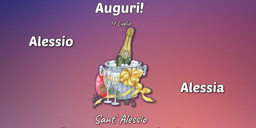 Cartoline di Sant' Alessio - 17 Luglio - Sant' Alessio