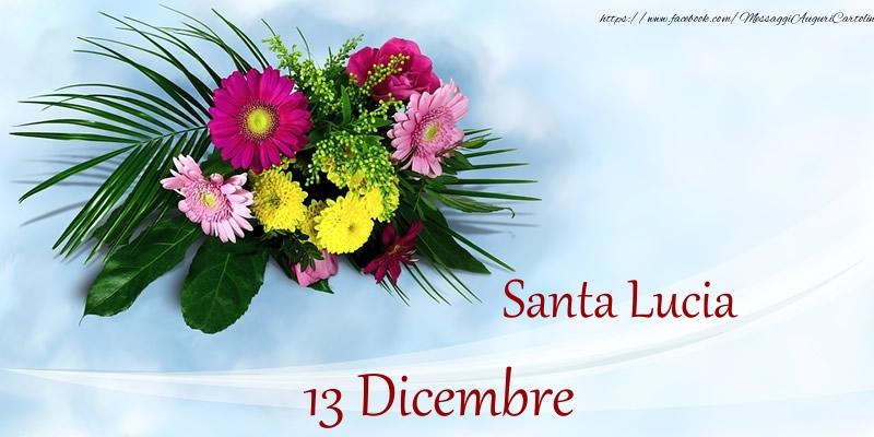 Cartoline di Santa Lucia - Santa Lucia 13 Dicembre
