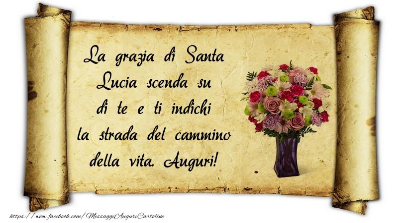 Cartoline di Santa Lucia - Auguri di Santa Lucia!
