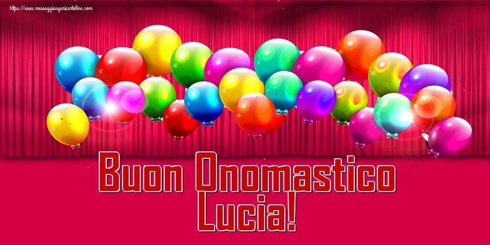 Cartoline di Santa Lucia - Buon Onomastico Lucia!