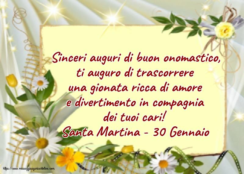 Cartoline di Santa Martina - Santa Martina - 30 Gennaio