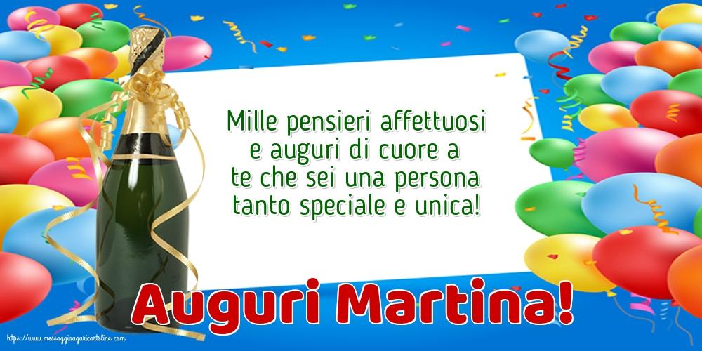 Cartoline di Santa Martina - Auguri Martina!