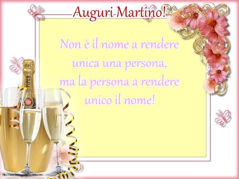 Cartoline di Santa Martina - Auguri Martino!