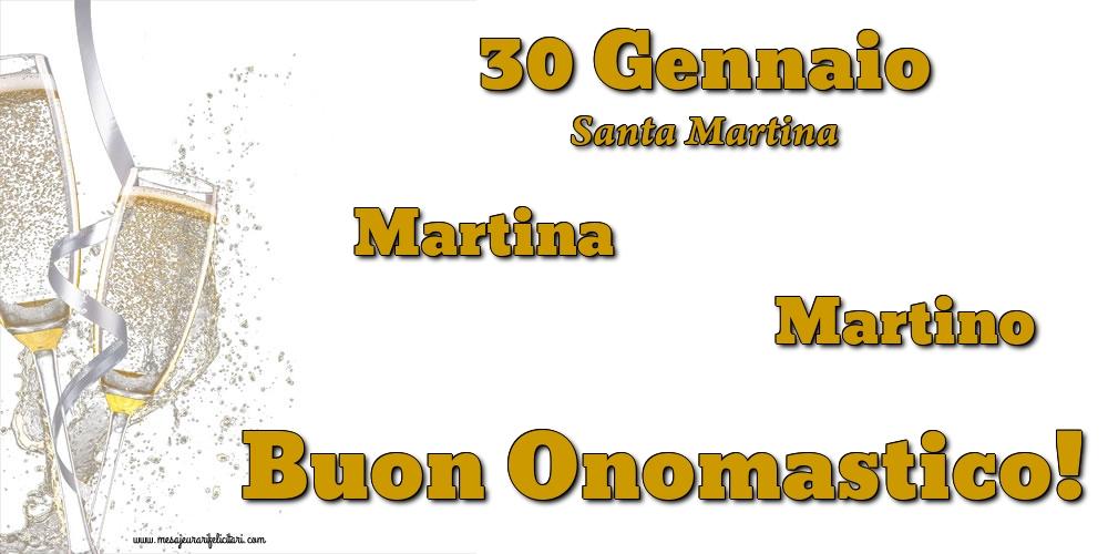 Cartoline di Santa Martina - 30 Gennaio  - Santa Martina