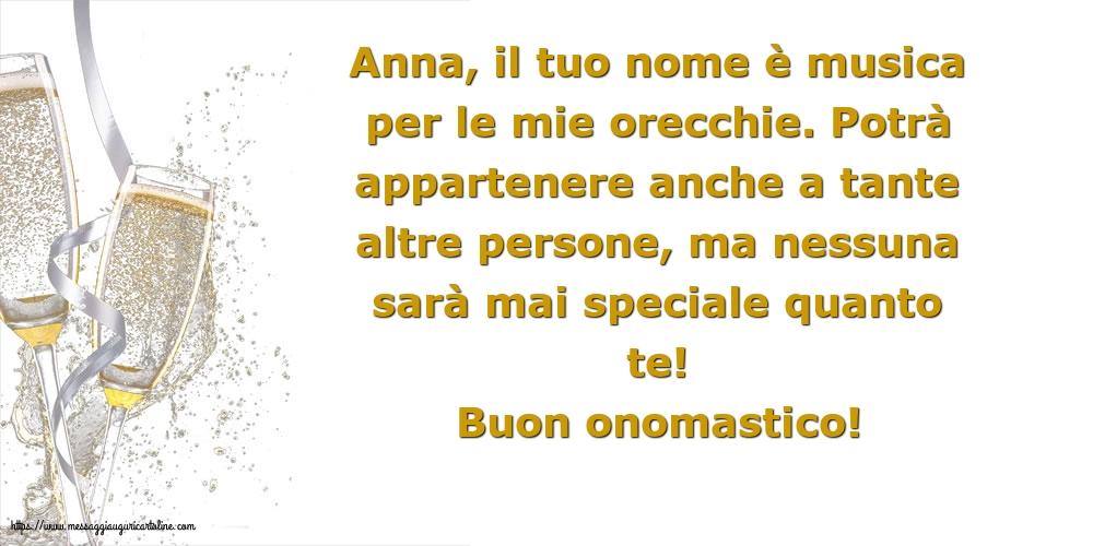 Cartoline di Sant'Anna - Buon onomastico!
