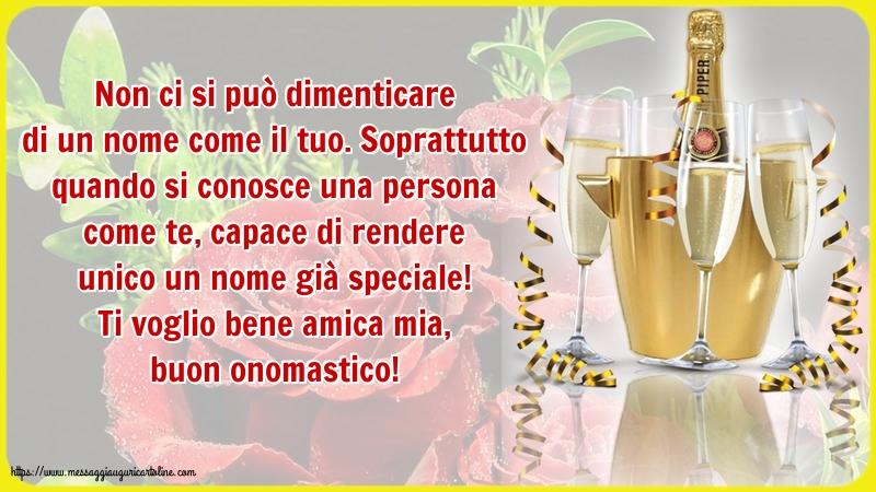 Cartoline di Sant'Anna - Ti voglio bene amica mia, buon onomastico!