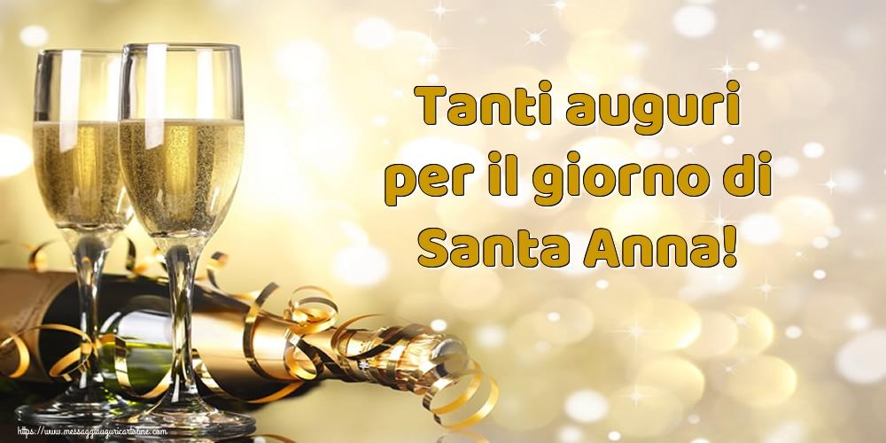 Cartoline di Sant'Anna - Tanti auguri per il giorno di Santa Anna!