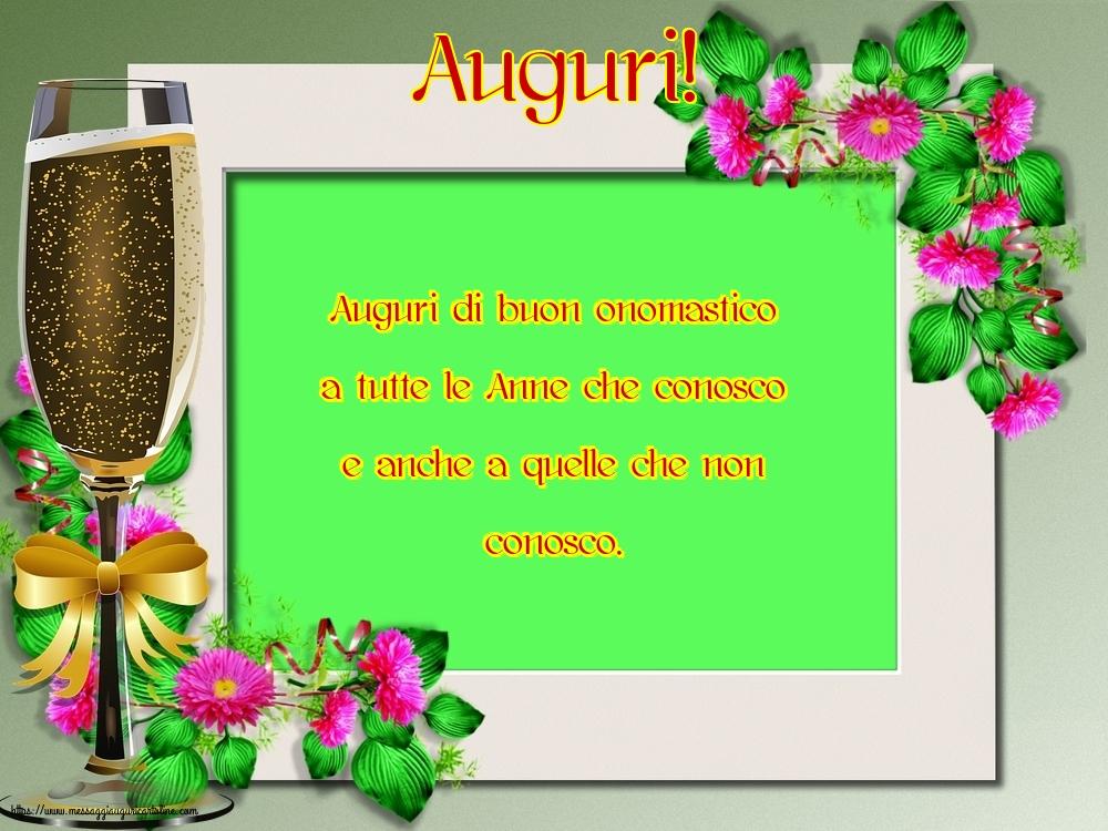Cartoline di Sant'Anna - Auguri!
