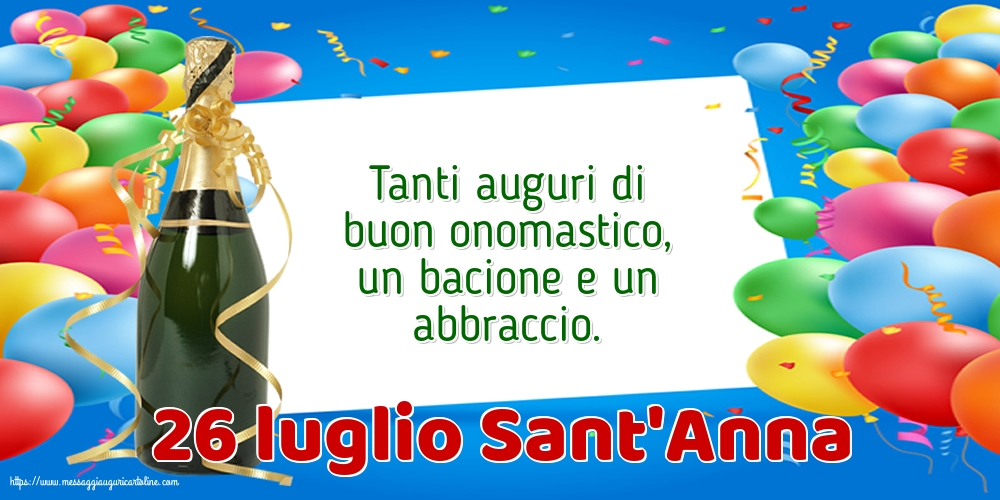 Cartoline di Sant'Anna - 26 luglio Sant'Anna