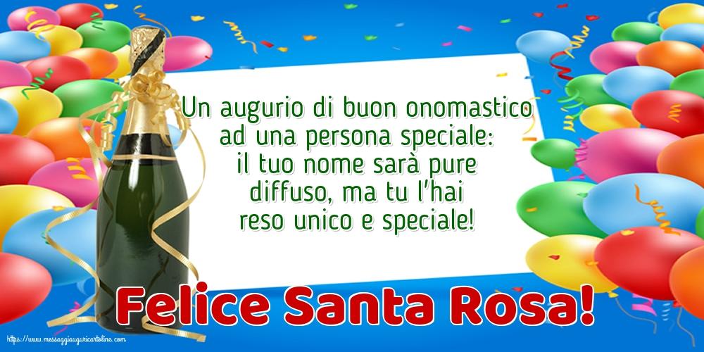 Cartoline di Santa Rosa - Felice Santa Rosa!