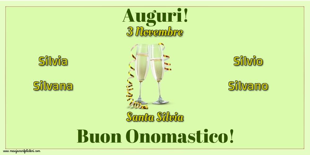 Cartoline di Santa Silvia - 3 Novembre - Santa Silvia