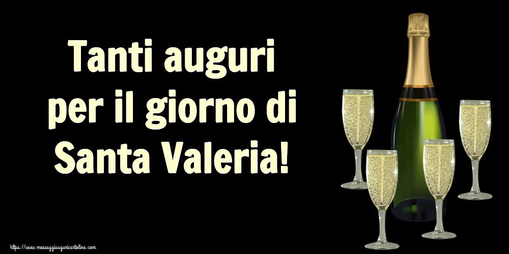 Cartoline di Santa Valeria - Tanti auguri per il giorno di Santa Valeria!