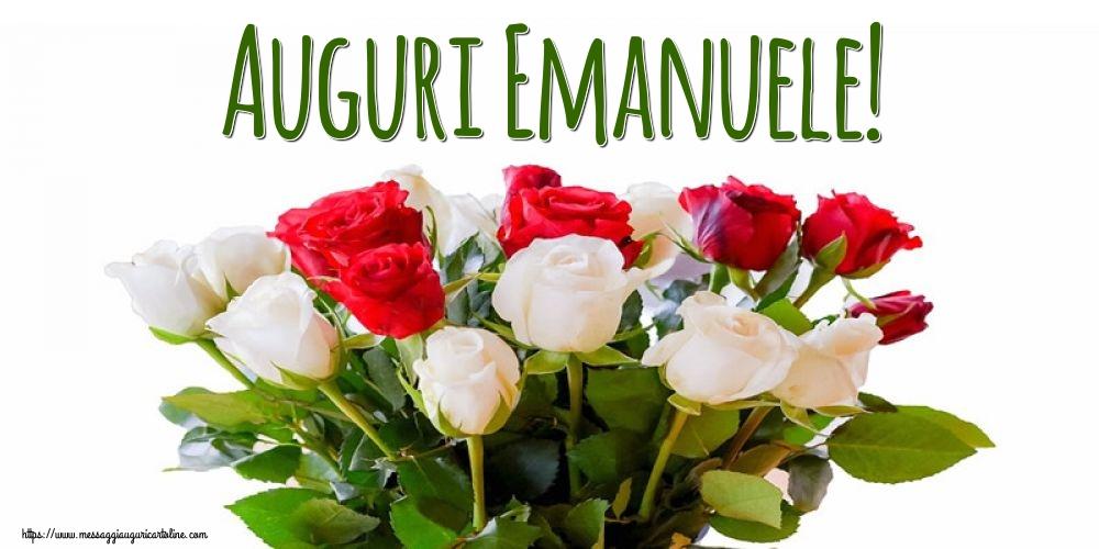 Cartoline di Sant'Emanuele - Auguri Emanuele!