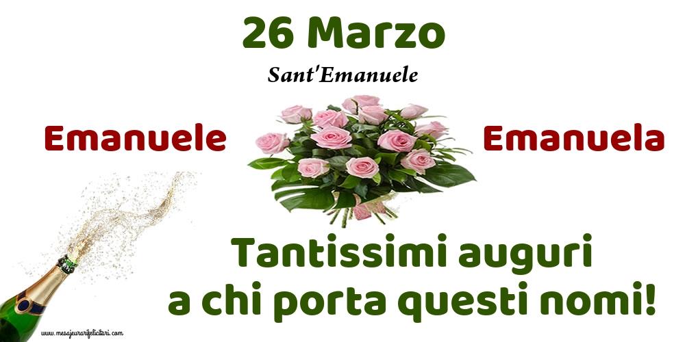 Cartoline di Sant'Emanuele - 26 Marzo - Sant'Emanuele