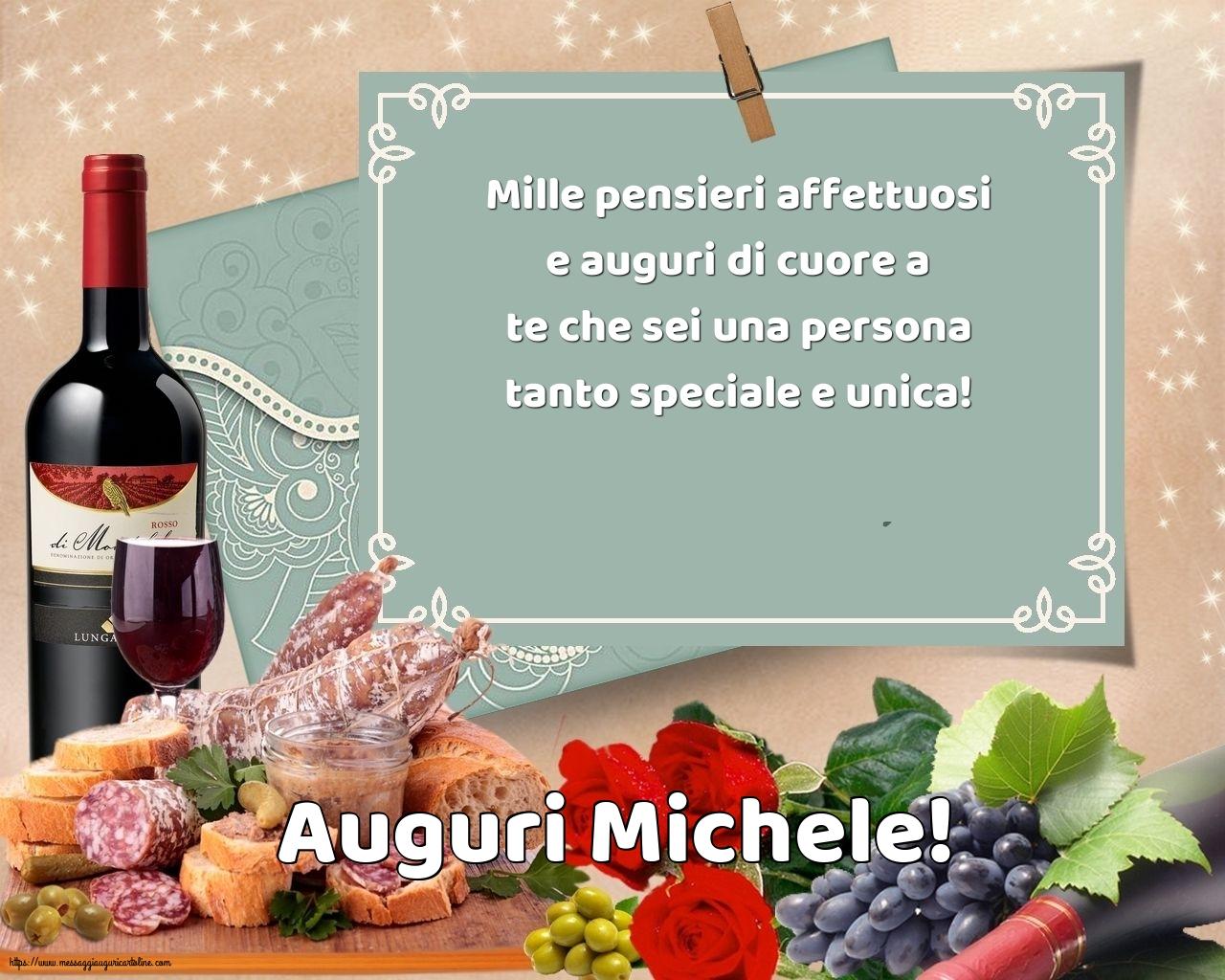 Cartoline di Santi Michele, Gabriele e Raffaele - Auguri Michele!