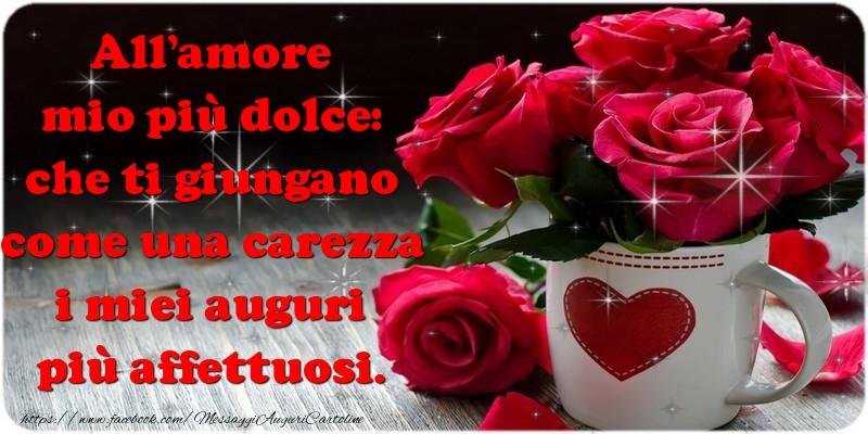 Cartoline di Santi Michele, Gabriele e Raffaele - All'amore mio più dolce