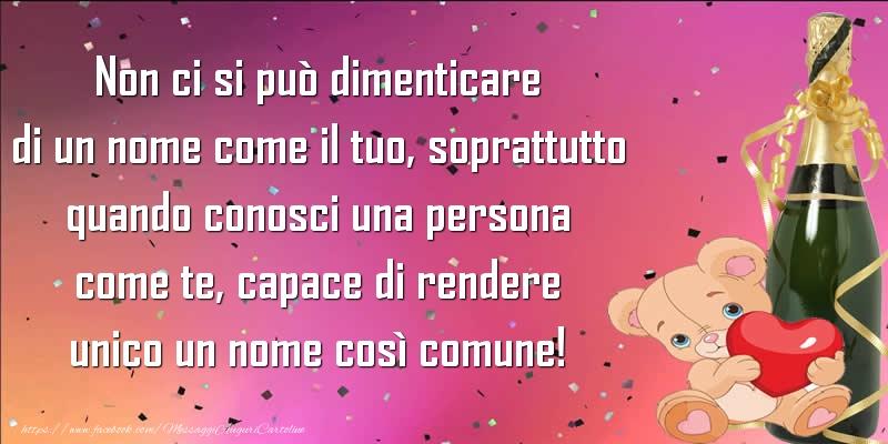 Cartoline di Santi Michele, Gabriele e Raffaele - Non ci si può dimenticare di un nome come il tuo