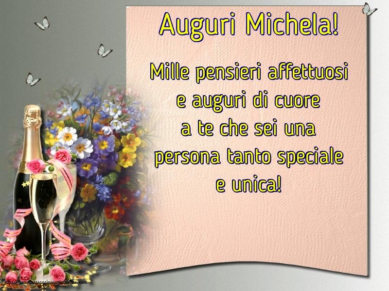 Cartoline di Santi Michele, Gabriele e Raffaele - Auguri Michela!