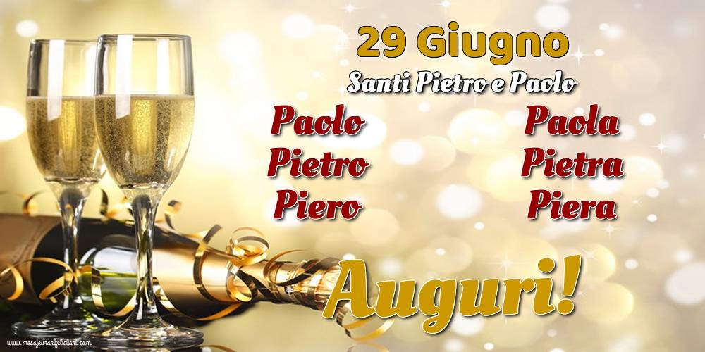 Santi Pietro e Paolo 29 Giugno - Santi Pietro e Paolo