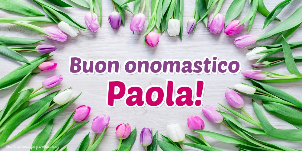 Santi Pietro e Paolo Buon onomastico Paola!