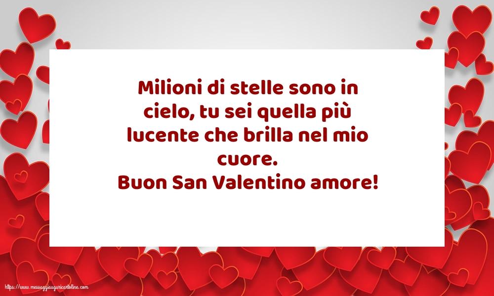 Cartoline di San Valentino - Buon San Valentino amore!