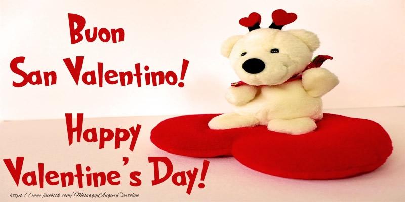 Cartoline di San Valentino - Buon San Valentino! Happy  Valentine's Day!