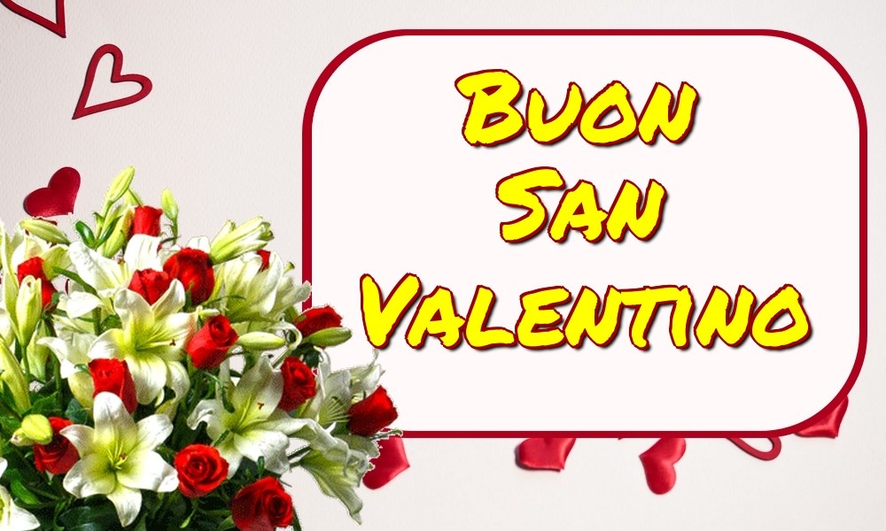 Cartoline di San Valentino - Buon San Valentino - messaggiauguricartoline.com