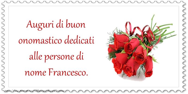 Messaggi di San Francesco - Auguri di buon onomastico - messaggiauguricartoline.com