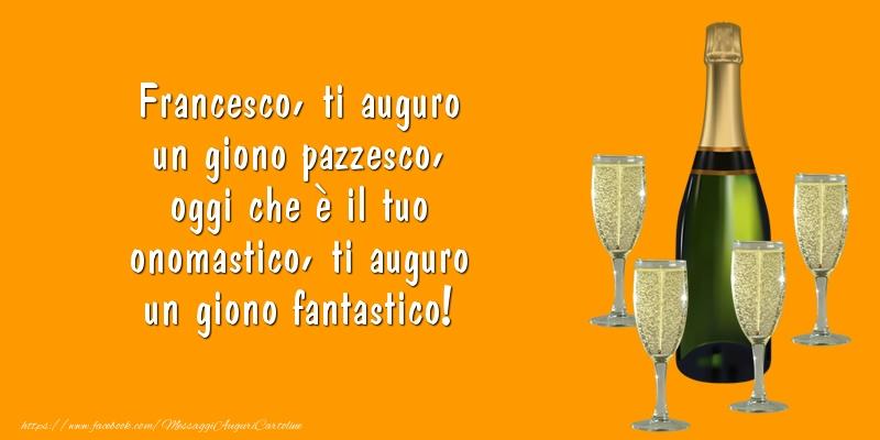 Messaggi di San Francesco - Ti auguro un giono fantastico! - messaggiauguricartoline.com