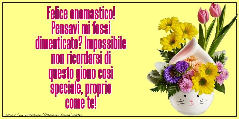 Messaggi di San Francesco - Felice onomastico! - messaggiauguricartoline.com