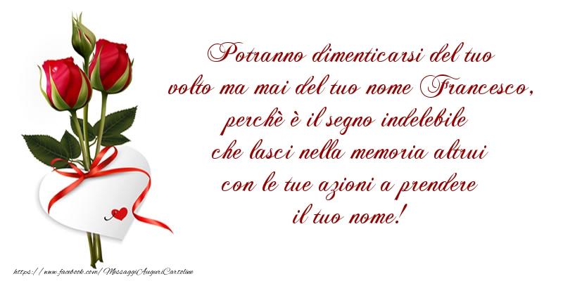 Messaggi di San Francesco - Buon onomastico! - messaggiauguricartoline.com
