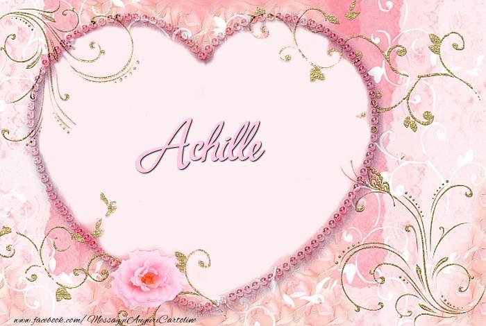 Cartoline d'amore - Achille