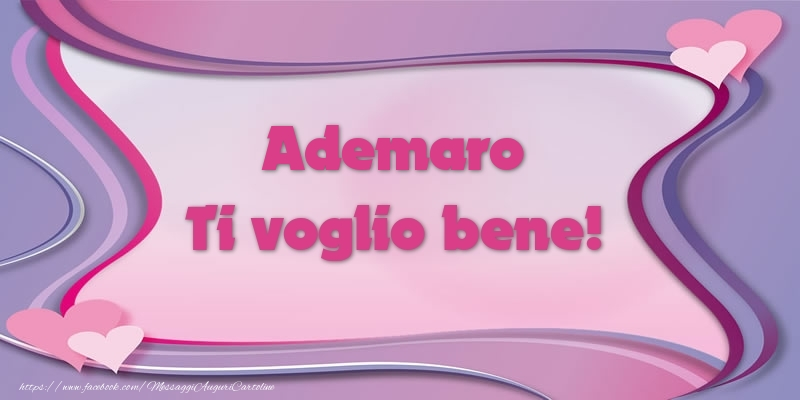 Cartoline d'amore - Ademaro Ti voglio bene!