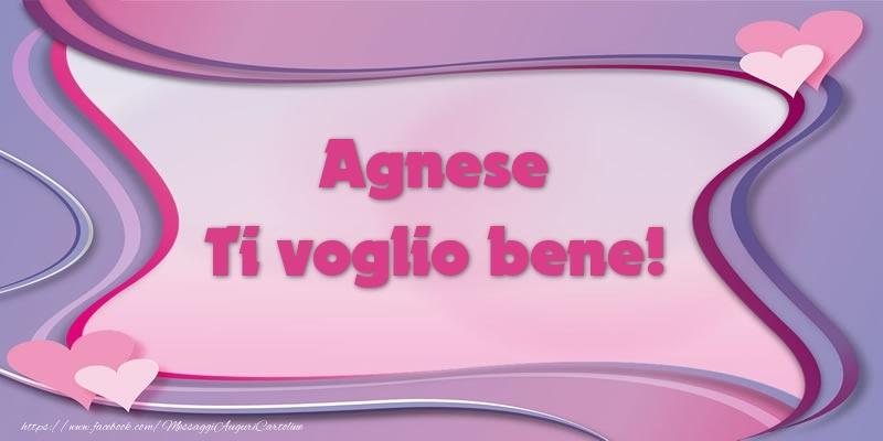 Cartoline d'amore - Agnese Ti voglio bene!
